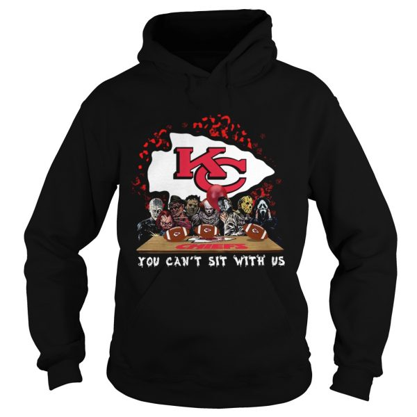Kansas City Chiefs Horror team you cant sit with us  Hoodie
