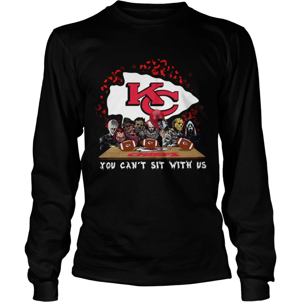 Kansas City Chiefs Horror team you cant sit with us  LongSleeve