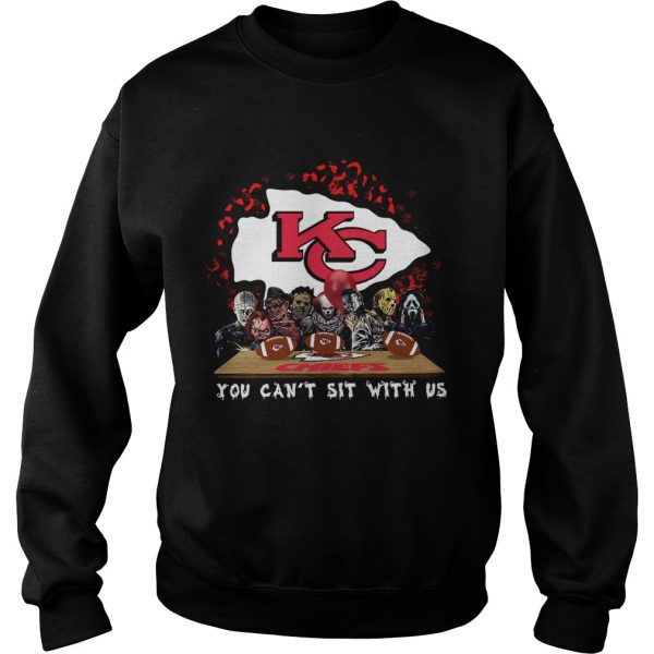 Kansas City Chiefs Horror team you cant sit with us  Sweatshirt