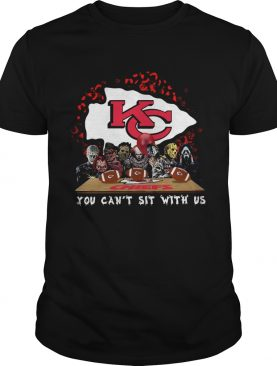 Kansas City Chiefs Horror team you cant sit with us shirt