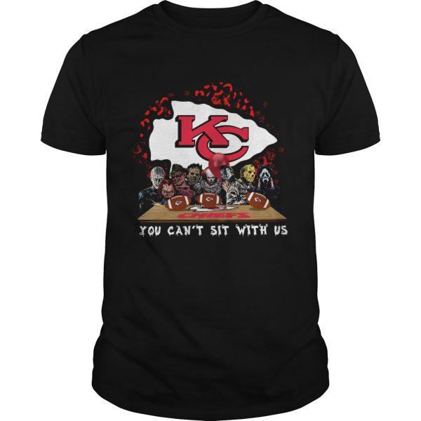 Kansas City Chiefs Horror team you cant sit with us  Unisex