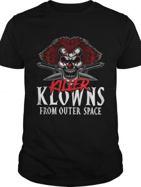 Killer Klowns From Outer Space Scary Clown Halloween shirt
