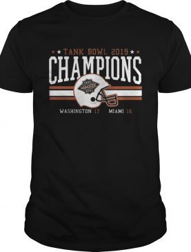 Miami Football Tank Bowl Champs 2020 tshirt