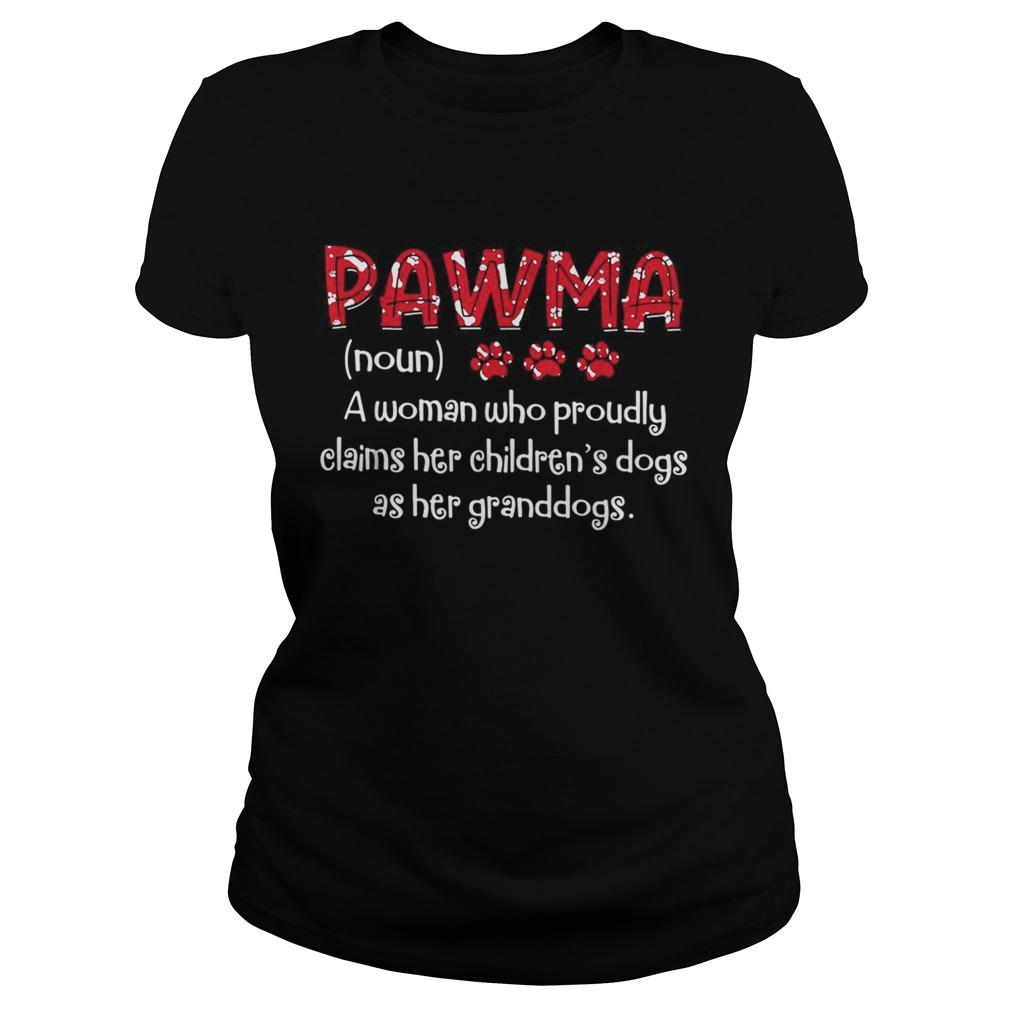 Pawma a woman who proudly claims her childrens dogs as her granddogs Classic Ladies