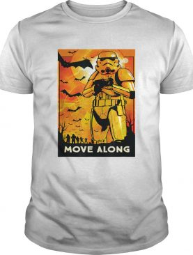 Star Wars Stormtroopers Move Along Halloween shirt