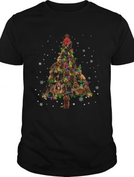 Sussex Spaniel Christmas Tree TShirt