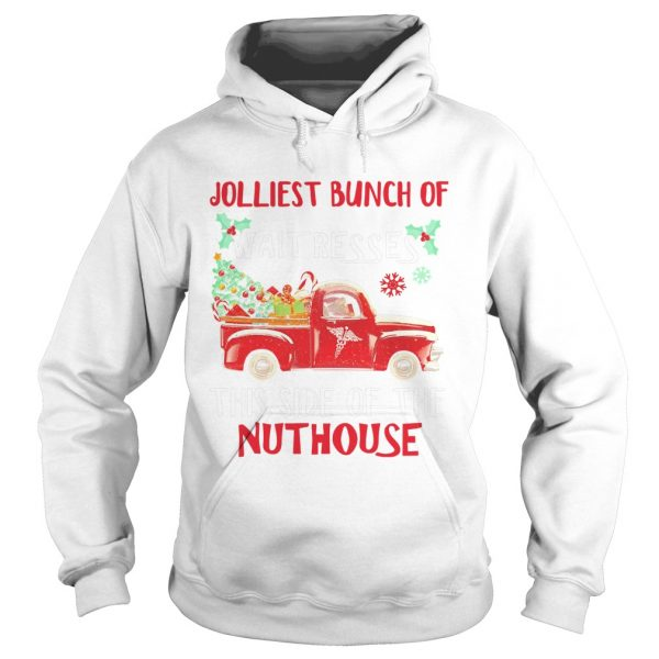 1572667230Jolliest bunch of Waitresses this side of nuthouse  Hoodie