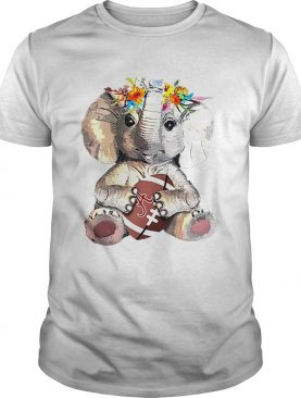 Alabama Crimson Tide Elephant Flower shirt