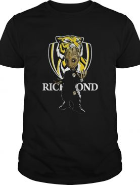 Baby Groot Richmond Football shirt