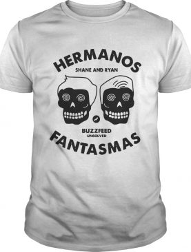 Buzzfeeds Unsolved Hermanos Fantasmas shirt