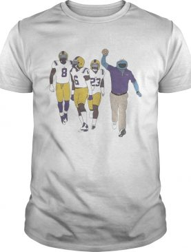 Cajun Cookie Monster LSU Tigers Peter Parrish Terrace Marshall Jr Corren Norman shirt