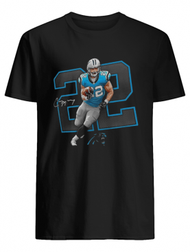 Carolina Panthers Christian McCaffrey 22 Signature shirt