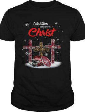 Christmas Begins With Alabama Crimson Tide shirt
