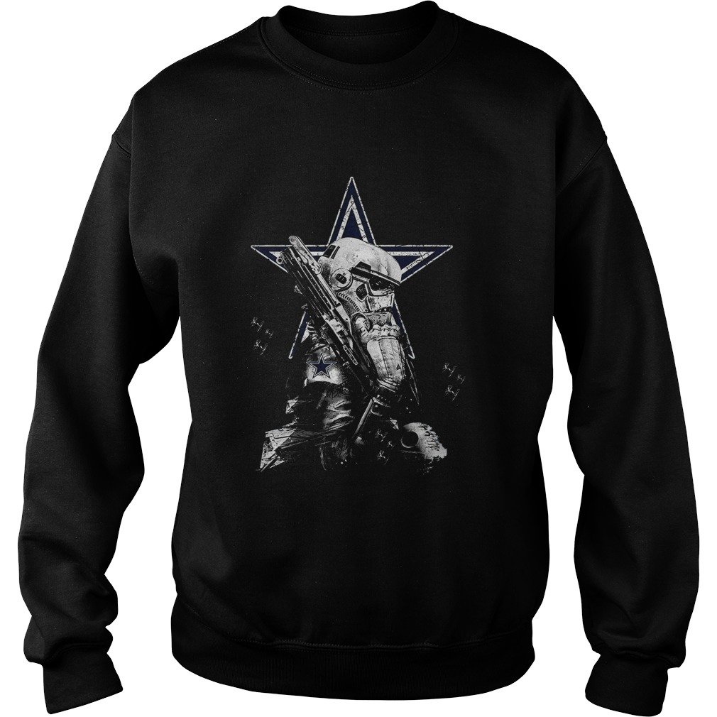 Dallas Cowboys Star Wars Stopper  Sweatshirt