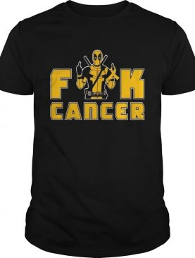 Fuck Appendix Cancer Deadpool Funny Cancer Awareness shirt