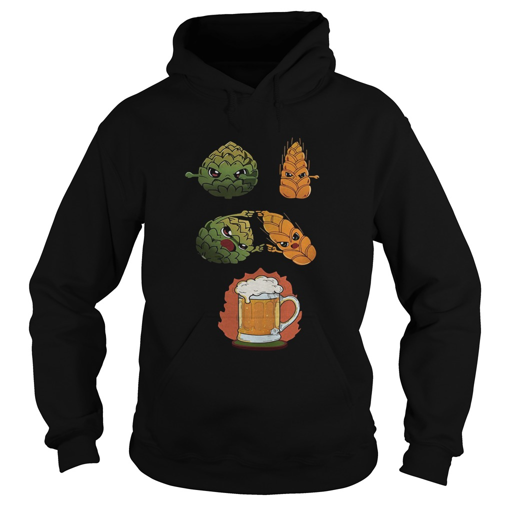 Hop And Malt Fusion To Beer  Hoodie