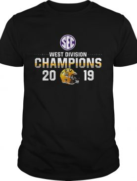 LSU Tigers 2019 SEC West Football Division Champions shirt