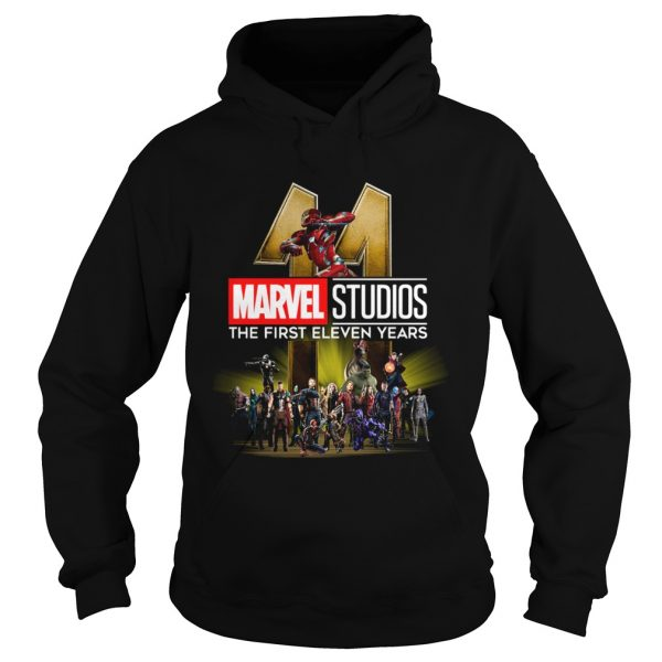 Marvel Studio The First Eleven Years  Hoodie