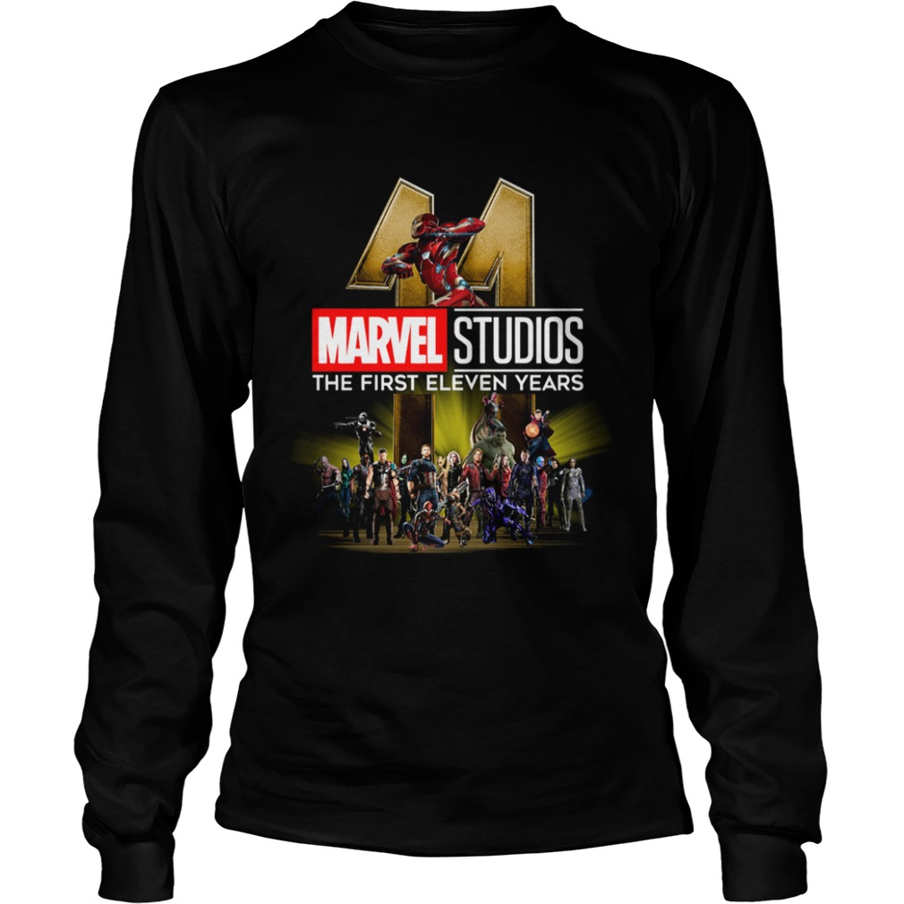 Marvel Studio The First Eleven Years  LongSleeve