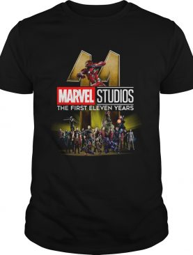 Marvel Studio The First Eleven Years shirt