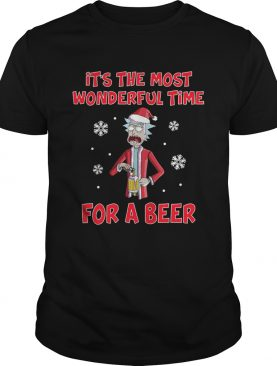 Rick Sanchez Its the most wonderful time for a beer shirt