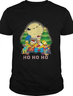 The Simpsons Family ho ho ho Christmas shirt