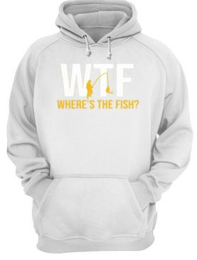 WTF Where's The Fish Fishing shirt