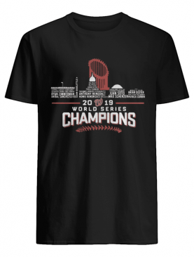 World Series Champions 2019 Washington Nationals City shirt