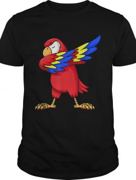 1575344161Parrot Dabbing for kids birthday party gift Family Christmas shirt