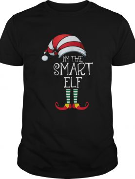 Im The Smart Elf Family Matching Christmas shirt