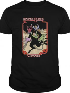 Seasons Beatings From Krampus Christmas shirt