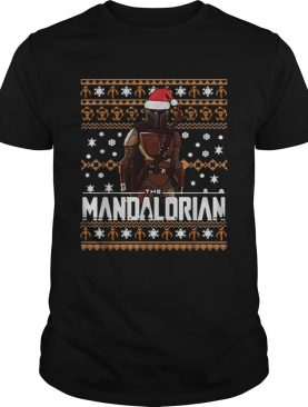 The Mandalorian ugly Christmas shirt