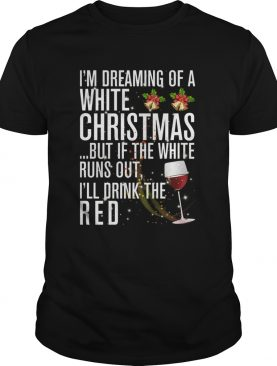 White Christmas Red Wine shirt