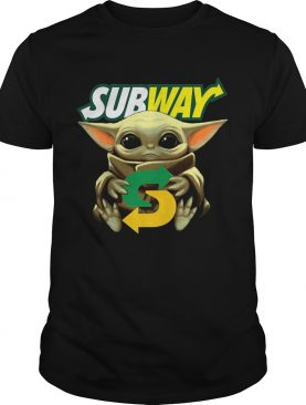 Baby Yoda Hug Subway shirt
