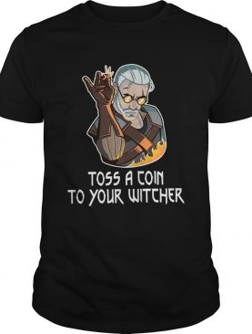 Toss A Join To Your Witcher shirt LlMlTED EDlTlON