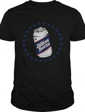 Can Zillion Beers shirt
