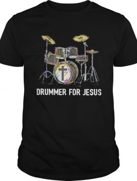 Drummer For Jesus shirt