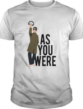 Liam Gallagher as you were shirt