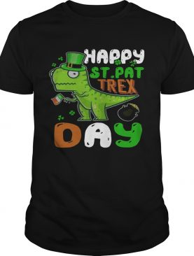 St Patricks Day Happy St Pat Trex Day shirt