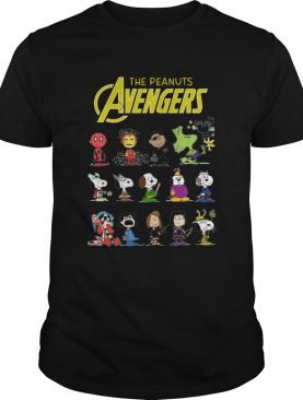 The Peanuts Avengers Characters 2020 shirt