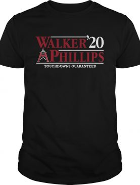 1583135516Walker Phillips 2020 Touchdowns Guaranteed shirt