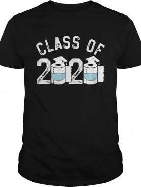 Funny Graduation Toilet Paper Outta TP Class of 2020 shirt