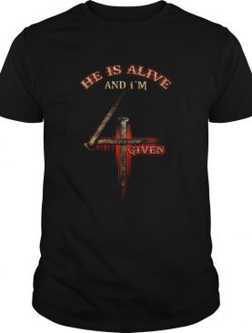 He is alive and Im given shirt