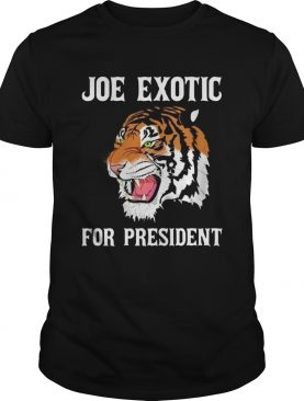 Joe Exotic For Governor shirt