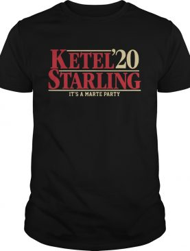 Ketel Starling Marte 2020 Its A Marte Party shirt