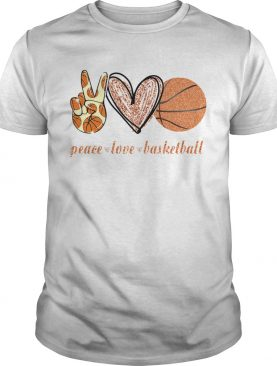 Peace Love Basketball shirt