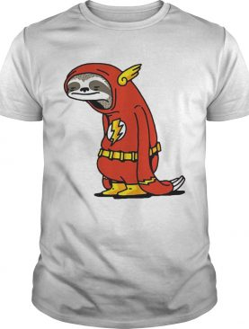 Sloth Flash Sticker shirt
