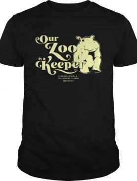 Hippo Our Zoo Is A Keeper shirt