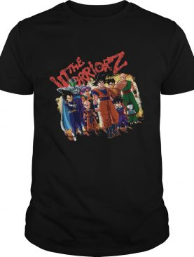 The Warriors Dragon Ball Z Character shirt
