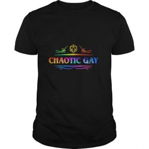 Dnd dm roleplaying lgbt chaotic gay shirt